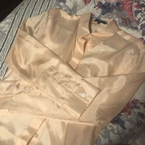 Theory silk shirt